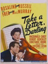 Возьми письмо, дорогая / Take a Letter, Darling