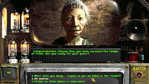 "Трейлер игры ""Fallout 2: A Post-Nuclear Role-Playing Game"""