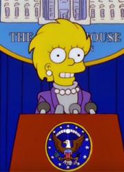 Симпсоны предсказали президентство Дональда Трампа