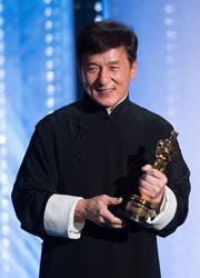 """Джеки Чан получил свой первый """"Оскар"""""""