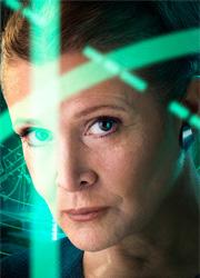 """Кэрри Фишер успела завершить съемки в """"Звездных войнах 8"""""""