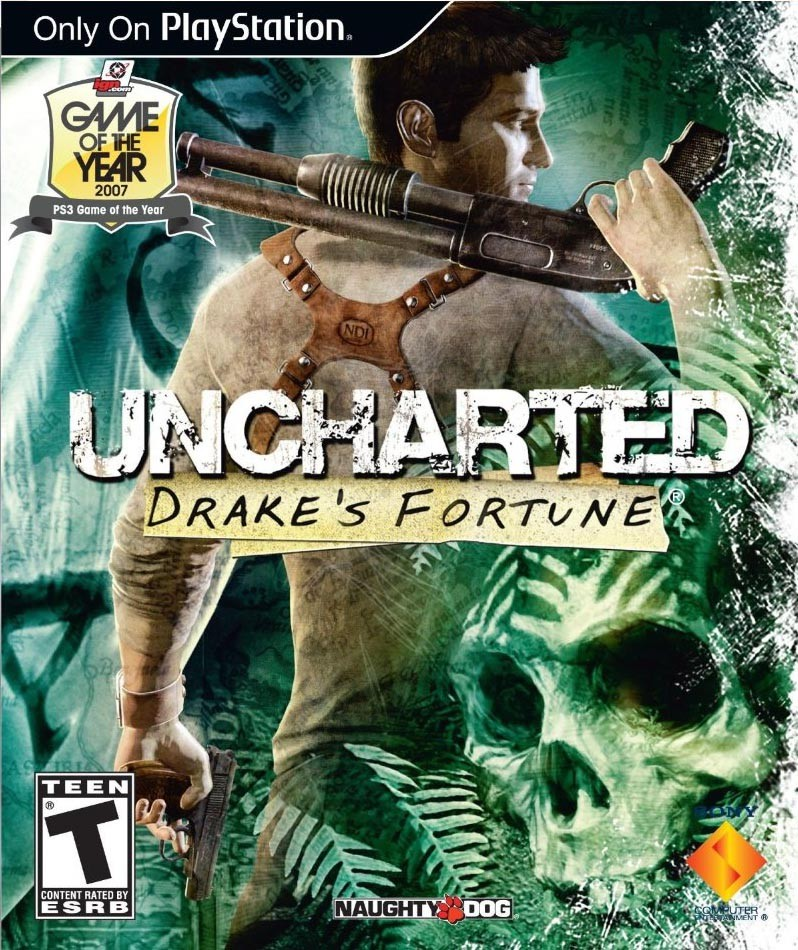 Обложка N131125 к игре Uncharted: Drake`s Fortune (2007)