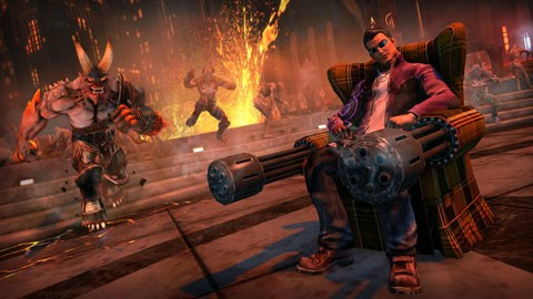 "Трейлер игры ""Saints Row: Gat Out of Hell"""