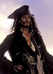 Стало известно название нового корабля Джека Воробья