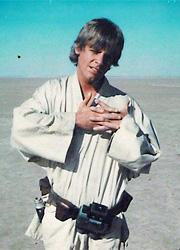Марк Хэмилл показал первую фотографию Люка Скайуокера