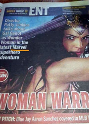 Североамериканская газета объявила Чудо-женщину героиней Marvel
