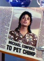 фото новости Netflix приобрел права на проект о шимпанзе Майкла Джексона