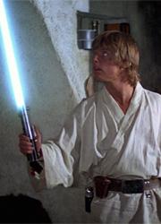 смотреть фильм Световой меч Люка Скайуокера будет продан на аукционе