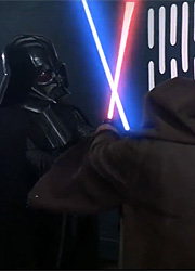 """Фанаты """"Звездных войн"""" пересняли эпизод дуэли Дарта Вейдера и Оби-Вана"""