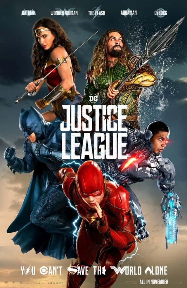 Постер N141464 к фильму Лига справедливости (2017)