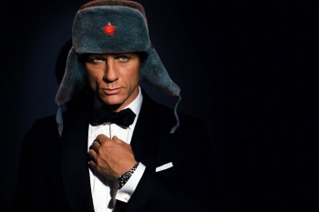 From Russia with Bond…Джеймс Бонд!