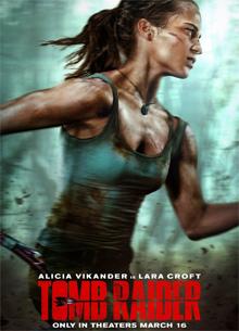 """фото новости Критики разделились во мнении о фильме """"Tomb Raider: Лара Крофт"""""""