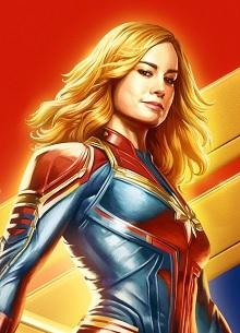 """фото новости """"Капитан Марвел"""" стартовала в два раза лучше """"Чудо-женщины"""""""