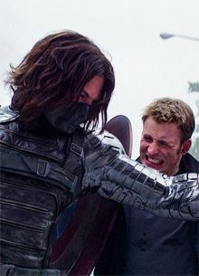 фото новости В Сети показали схватку Капитана Америки и Зимнего Солдата без спецэффектов