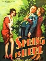 Весна здесь / Spring Is Here
