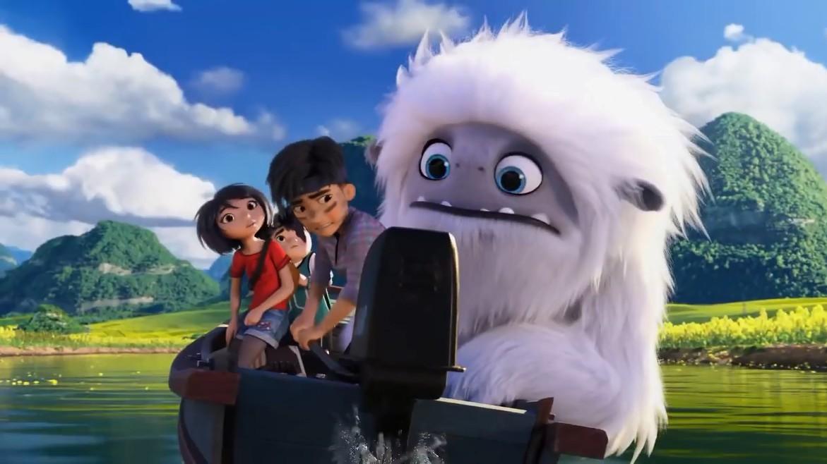 Кадр N158681 из мультфильма Эверест / Abominable (2019)