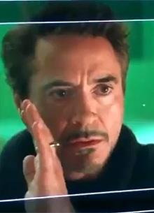 """newsimg99511 Роберт Дауни мл. показал не вошедшую в фильм """"Мстители 4"""" сцену"""