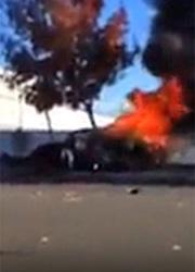 пол уокер фото разбитой машины