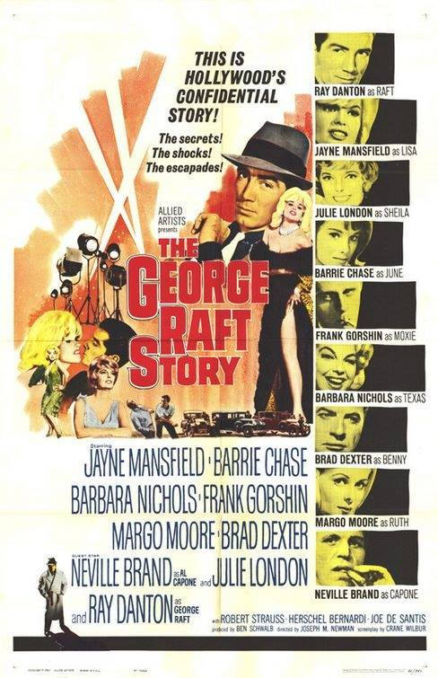 Постер N26497 к фильму The George Raft Story (1961)