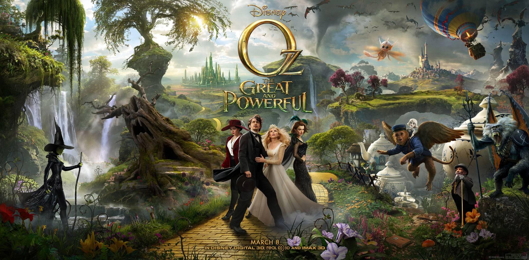 """Постер #45942 к фильму """"""""Оз: Великий и ужасный"""" / Oz: The Great and Powerful"""""""