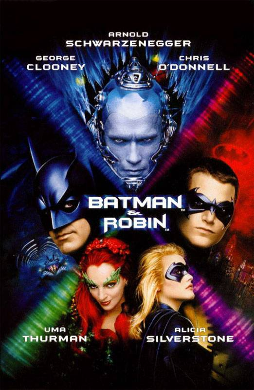 Постер N5354 к фильму Бэтмен и Робин (1997)