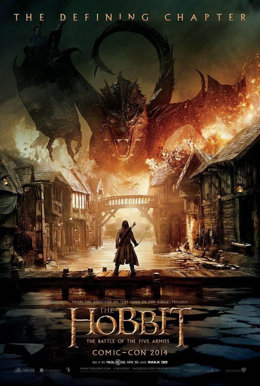 "Постер #88831 к фильму """"Хоббит 3: Битва пяти воинств"" / The Hobbit: The Battle of the Five Armies"""