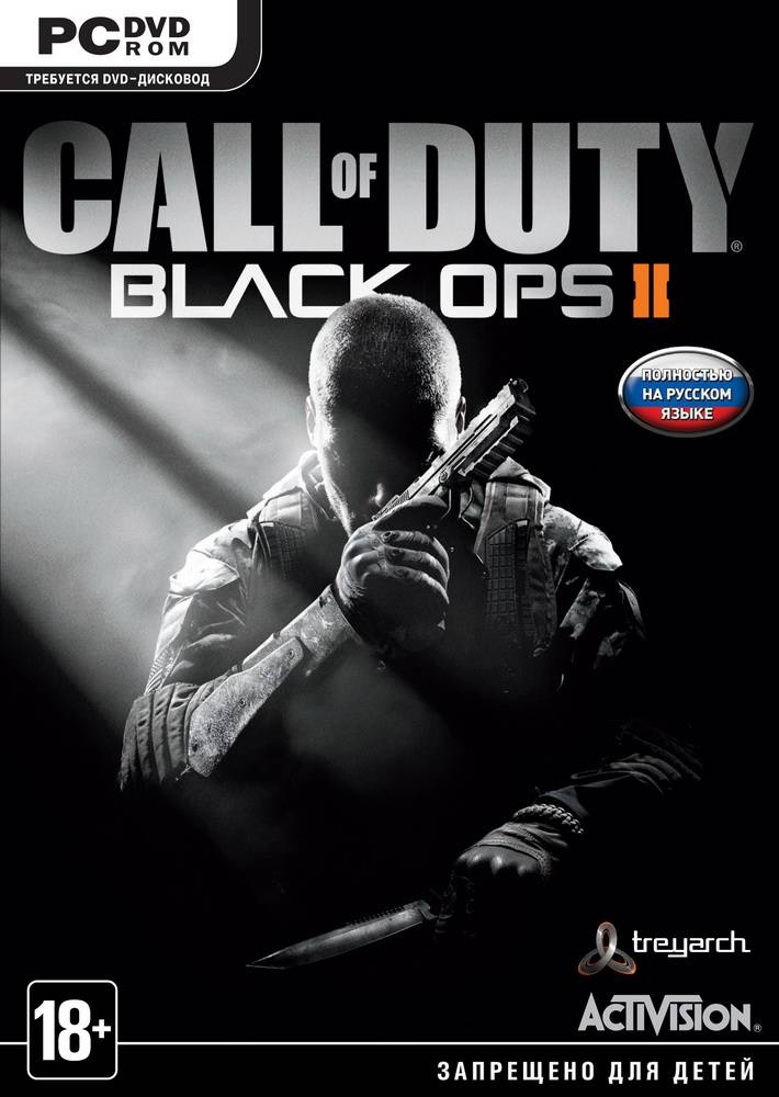 Обложка N92170 к игре Call of Duty: Black Ops II (2012)