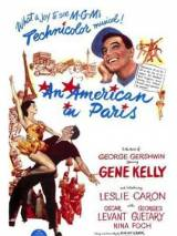 """Постер к фильму """"Американец в Париже"""""""