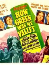 """Постер к фильму """"Как зелена была моя долина"""""""