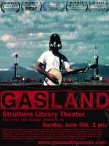 """Постер к документальному фильму """"Газовая страна"""""""
