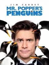 """Постер к фильму """"Пингвины мистера Поппера"""""""