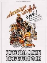 """Постер к фильму """"Американские граффити"""""""