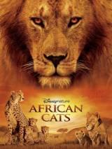 """Постер к фильму """"Африканские кошки: Королевство смелости"""""""