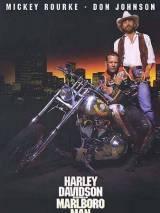 """Постер к фильму """"Харлей Дэвидсон и ковбой Мальборо"""""""
