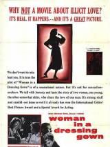 """Постер к фильму """"Женщина в халате"""""""