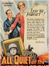 """Постер к фильму """"На западном фронте без перемен"""""""