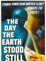"""Постер к фильму """"День, когда земля остановилась"""""""
