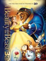 """Постер к 3D-версии мультфильма """"Красавица и чудовище"""""""