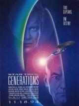 """Постер к фильму """"Звездный путь 7: Поколения"""""""