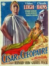 """Постер к фильму """"Цезарь и Клеопатра"""""""