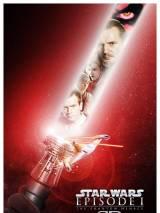 """Постер к стереоверсии фильма """"Звездные войны: Скрытая угроза"""""""