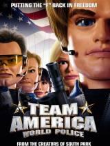 """Постер к фильму """"Команда Америка: мировая полиция"""""""