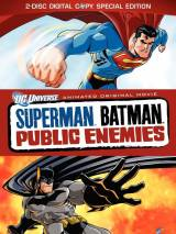 "Постер к фильму ""Супермен/Бэтмен: Враги общества"""