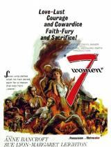 """Постер к фильму """"7 женщин"""""""