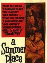 """Постер к фильму """"A Summer Place"""""""