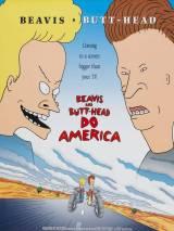 "Постер к фильму ""Бивис и Батт-Хед уделывают Америку"""
