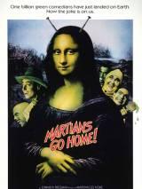 """Постер к фильму """"Марсиане, убирайтесь домой"""""""