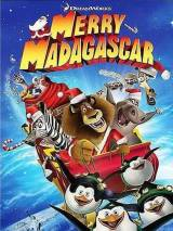 """Постер к фильму """"Рождественский Мадагаскар"""""""