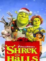 Шрек мороз, зеленый нос / Shrek the Halls