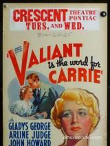 Отвага — второе имя Керри / Valiant Is the Word for Carrie